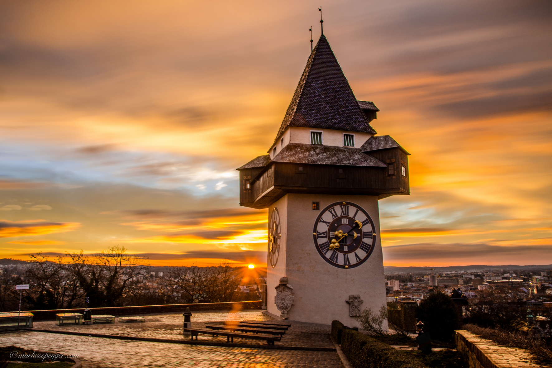 Uhrturm (c) Graz Tourismus - Markus Spenger